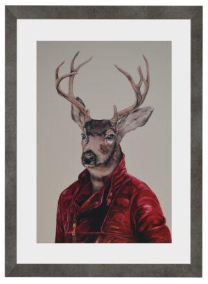 Plakat Deer Pets Rock