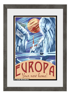 Plakat Europa Your New Home