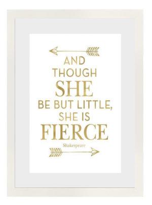 Plakat Fierce Shakespare