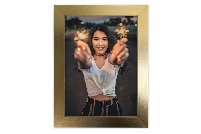 ramka fotoramka złota złoto na zdjęcie oprawa